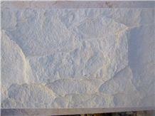 Qabatiya White Stone Split Face for Walling
