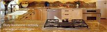 Golden Glory Granite Kitchen Countertops