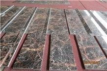China Montmartre Marble Steps,Polished Guangxi Black Montmartre Marble Stair Treads,Non-Slip Guangxi Montmartre Marble Staircase & Riser,Quality Montmartre Marble Stair