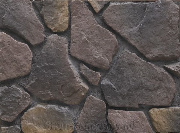 Hot Selling Western Manufactured Stone Castle Rock Veneer