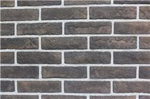 Rich Experience Exporter Of Black Artificial Cultured Stone Walling Tiles,Quality Guarantee Fake Stacked Stone Bricks for Gymnasium Interior/Exterior Wall Decor, Building Stones