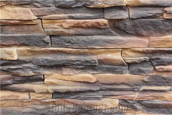 Wholesale Decorative Fake Stone Cultured Stone Veneer