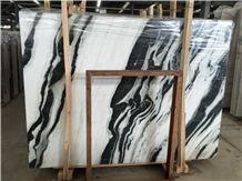 Panda White Marble Tile & Slab,Dalmata Marble ,Mountain White Marble,White Marble ,Black Marble