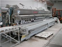 Machine 6577 Lct Brand Comandulli Model Sintesi Pnc T10 Cg Fpsv Side-Edge Polishing & Profiling Machine