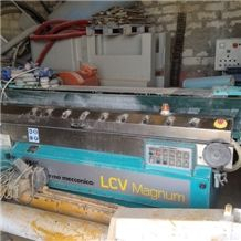 Marmomeccanica Model Lcv 711 M-Su Side-Edge Polishing Machine