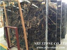 Black Tulip Marble Tiles & Slabs, Black Tulip Marble Floor Covering Tiles