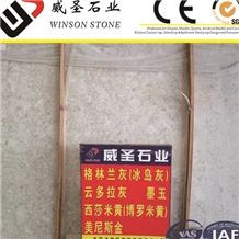 Polished China Yunnan Greenland Marble Slabs .China Grey Granite Tile,Ice Grey Marble Wall Covering Tiles &Slabs