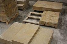Giallo Provenza Limestone, Yellow California Tiles, Jaune Boujaad Limestone Tiles, Morocco Yellow Limestone Tiles, California Honey Limestone Tiles