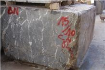 Snow Grey Marble Blocks, Morocco Grey Marble Blocks