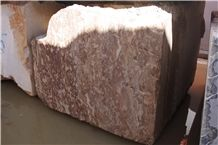 Sunset Red Marble Blocks, Morocco Red Marble Blocks