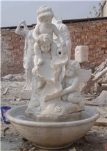 Pure White Marble Angel Statue