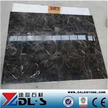 China Dark Emperador Cheap Black Marble Floor Tile