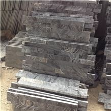 Grey Slate Culture Stone for Wall Cladding, Cheap China Slate Culture Stone, Stacked Stone Veneer