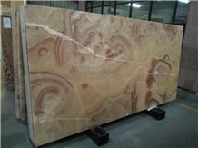 Iran Popular Luxury Orange Brown Onyx Polished Slabs & Tiles for Niche Wall, Special Pattern Interesting Natural Building Stone Flooring,Feature Wall,Clading, Hotel Lobby Project Decoration