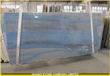Imported Light Blue Luxury Quartzite Azul Macauba, Azul Bahia Polished Slabs, Brazil Natural Blue Quartzite Floorings, Background Wall