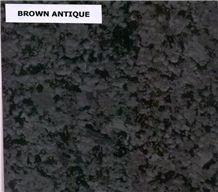 Brown Antique Granite Tiles & Slabs, Polished Granite Floor Tiles, Covering Tiles