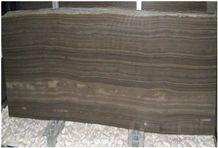 Obama Brown Wood Grain Marble Slabs & Tiles, Obama Wood Marble Marble