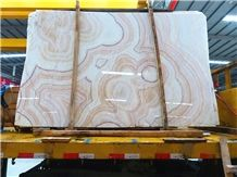 Red Dragon Onyx Tiles and Slab Polished Walling and Flooring Wall Background Covering High Quality and Best Price Fast Delivery