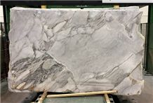Tuscan Superwhite Marble Slabs & Tiles, Cloudy Grey (Silver Grey , ) Marble Tiles