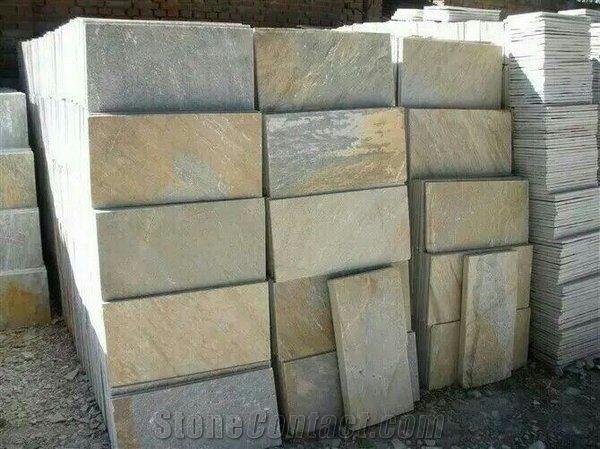 China Multicolor Slate Tiles Rustic Slate Tiles Natural