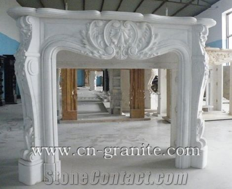 white marble fireplacewhite stone fireplacechina white fireplacefireplace design ideasfireplace decoratingremodelingsfireplace insertfireplace cover - Fireplace Styles And Design Ideas