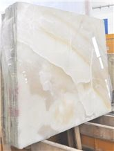 Bianco Avorio Onyx Slabs