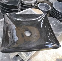 Black Granite Sinks & Basins, Granite Square Sinks, Square Basins