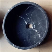 Black Marble Sinks & Basins, Marble Round Sinks, Wash Bowls