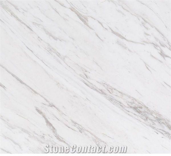 Volakas Marble Tiles Slabs White Polished Marble Floor