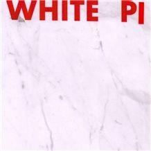 White Pi Marble Tiles & Slabs, Polished Marble Tiles