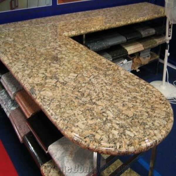 Double Full Bullnose Kitchen Countertop