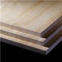 Giallo Alba Travertine Tiles & Slabs, Beige Travertine Flooring Tiles, Walling Tiles