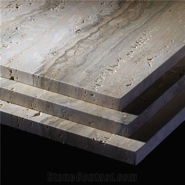 Rapolano Silver Travertine Tiles Slabs Grey Travertine Floor Tiles