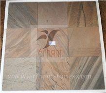 Copper Slate Flooring Tiles, Brown Slate Tiles & Slabs India