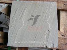 Raveena Sandstone Tiles & Slabs, Grey Sandstone Flooring Tiles