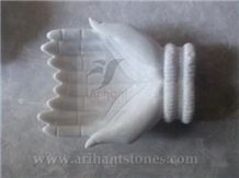 White Marble Soap Stand 1 India