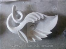 White Marble Soap Stand 2 India