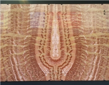 China Red Dragon Onyx Slab, Bookmatch,Feature Wall