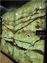 Pakistan Green Onyx Slabs & Tiles,Cut-To-Size Tiles,Multicolor Pattern,Brown&Beige Vein for Hotel,Lobby,Bathroom Wall Cover,Flooring,Bookmathes,Paving,Tvsets