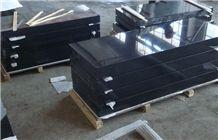 Black Granite Slant Headstones Products Manufacturer
