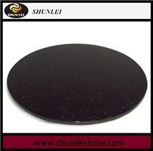 China Black Granite Lazy Susan, Granite Lazy Susan