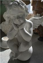 Marble Angel Scuptures, White Marble Sculpture & Statue