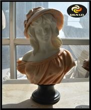 Marble Busts for Sale, White Marble Busts, Head Statues