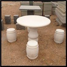 Marble Garden Bench/Marble Bench, White Marble Garden Bench