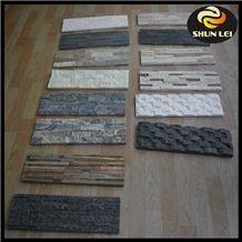 Natural China Grey Slate Cultured Stone