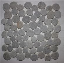 Natural Grey Pebble Mosaic Tile