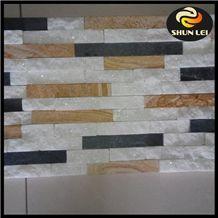 Natural White Slate Cultured Stone