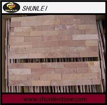 Pink Sand Slate Cultured Stone, Ledge Stone