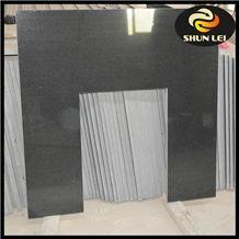 Shanxi Black Granite Fireplace Back Panel