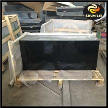 Shanxi Black Granite Slabs with Gold Spot